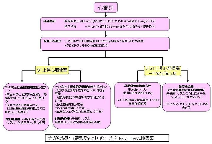 第5部 急性冠症候群の初期治療     (Section 5. Initial management of acute coronary syndromes)