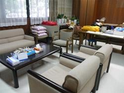熊本県看護協会災害支援ナース用部屋