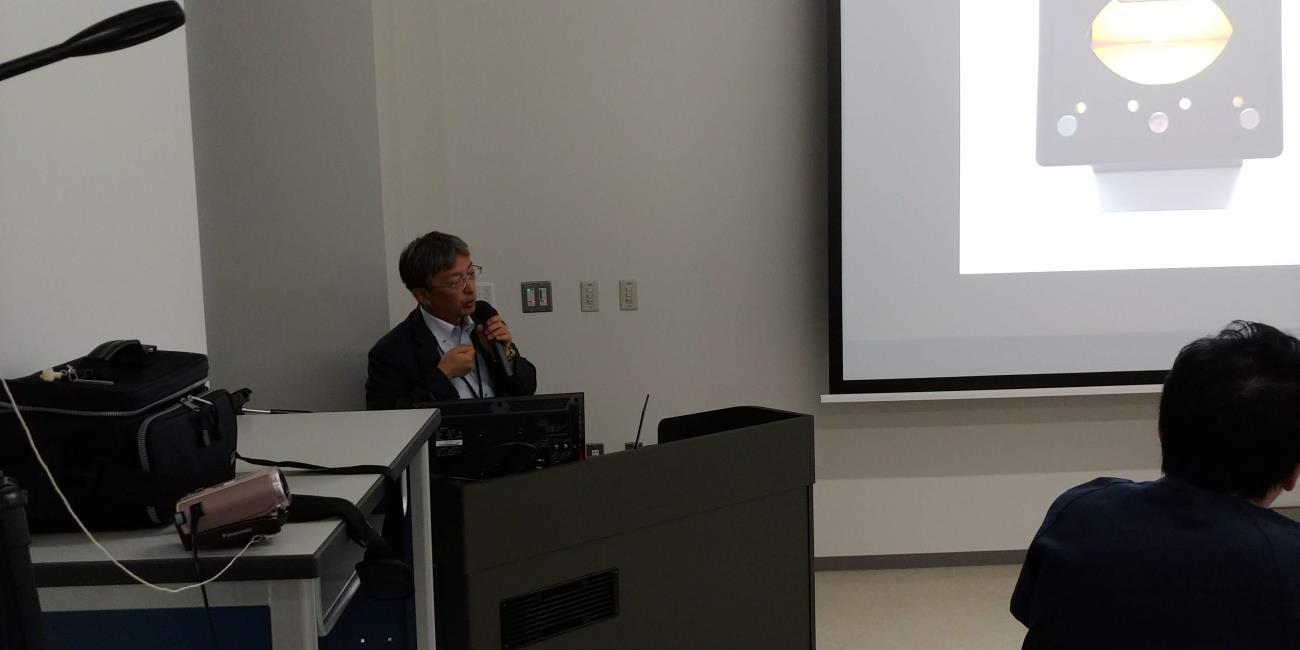 旭川医科大学外科学講座血管外科学分野 教授 東信良先生による小口径血管吻合についてのKeynote lecture