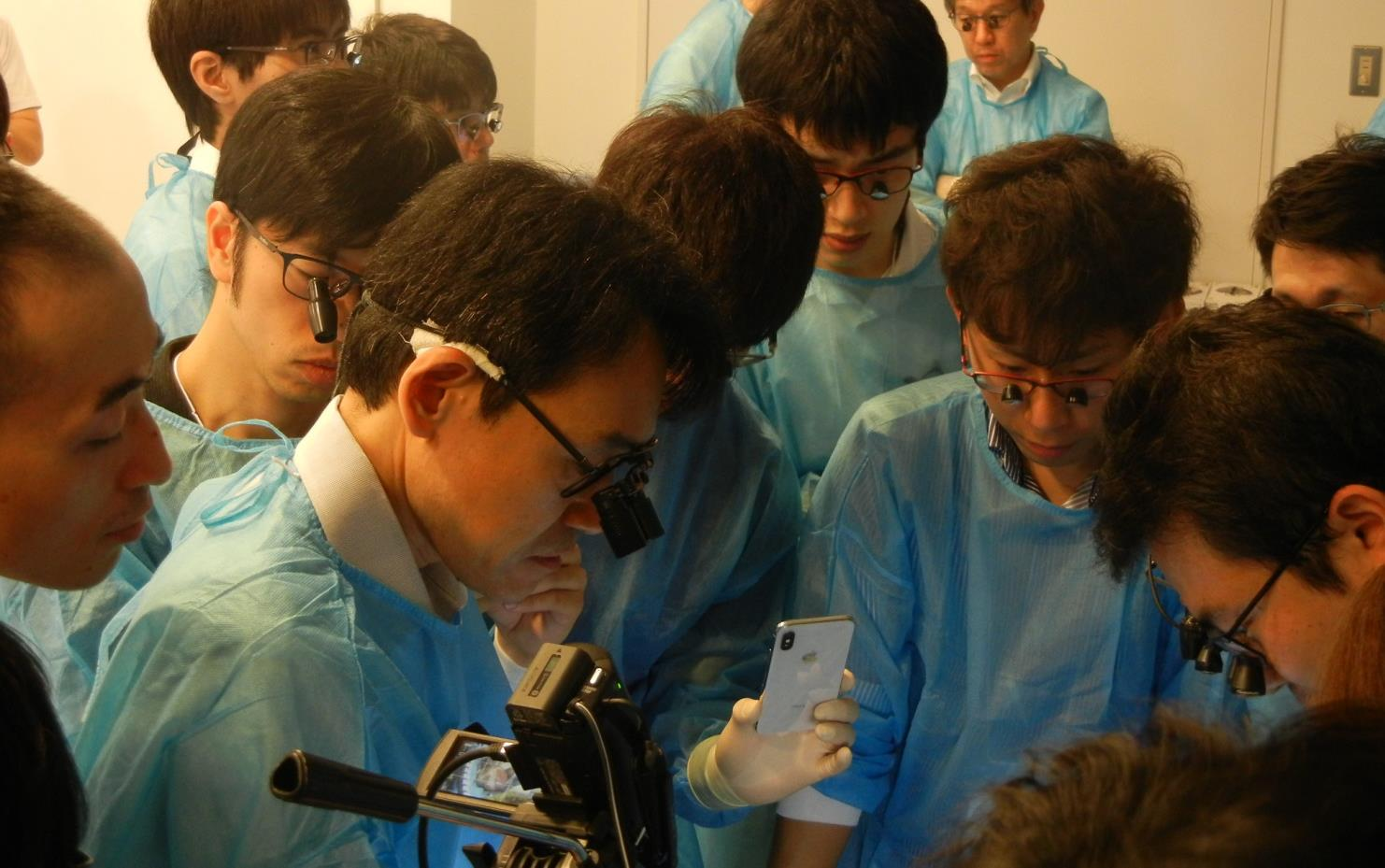 熊本大学の福井先生のバイパスレクチャーも、皆集中して学習していました。