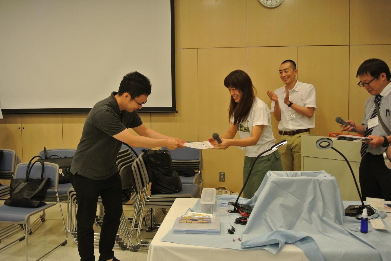 BEATコンテスト2位の佐賀大学の高橋先生