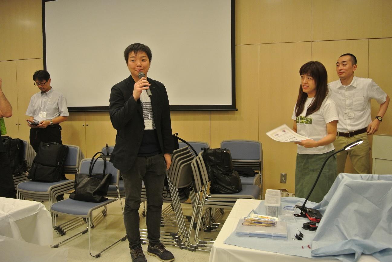 BEATコンテスト1位の佐賀大学の古賀先生